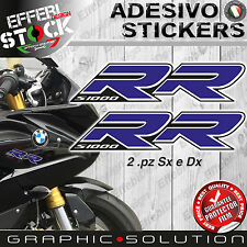 Adesivi/Stickers compatibili BMW S 1000 RR 08-16 HP4 MOTORRAD Blue TOP QUALITY !