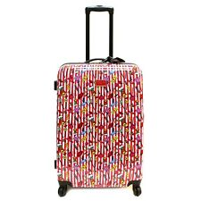 "NEW BETSEY JOHNSON 28"" ""CANDY LANE"" Large Spinner Luggage -SALE"