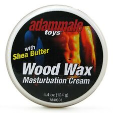 Wood Wax Male Masturbation Cream with Shea Butter Personal Lubricant 4.4 oz Tub