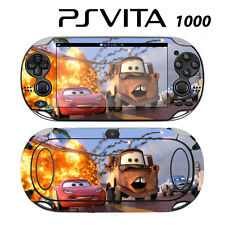 Vinyl Decal Skin Sticker for Sony PS Vita PSV 1000 Racing Cars McQueen 3