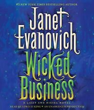 Janet Evanovich WICKED BUSINESS Unabridged CD *NEW* FAST 1st Class Ship!