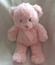 """Gund My First Teddy Plush Stuffed Bear Pink Girl Baby Nursery Soft 10-1/2"""""""