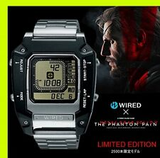 New SEIKO WIRED wired Metal Gear Solid The phantom pain 5 Watch AGAM601