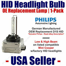OE HID Headlight Hi/Low GENUINE German PHILIPS - fits Select Mini Cooper - D1S