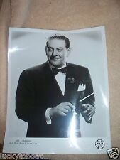 Guy Lombardo And His Royal Canadians News Release Photograph Original 1967
