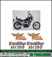 kit adesivi stickers compatibili excalibur xlr 350