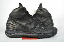 NEW Nike Lupinek Flyknit ACG SFB BLACK ANTHRACITE BOOTS 826077-001 sz 6.5