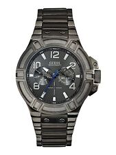 AUTHENTIC GUESS MEN'S RIGOR WATCH W0218G1 RRP:$389 BRAND NEW