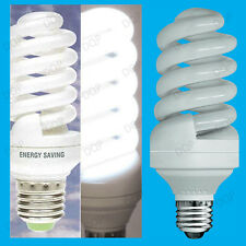 25W Daylight Low Energy CFL Power Saving SAD 6400K White Light Bulb ES E27 Lamp