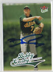 Bobby Crosby 2004 Fleer Ultra signed auto autographed card Oakland A's