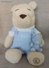 """Doudou peluche Winnie l'ourson/the pooh et son doudou """"Disney Store"""""""