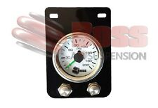 SGPCOMP-D BOSS Air Pressure Gauge Twin Needle with 2 x Air Down Deflation Valves
