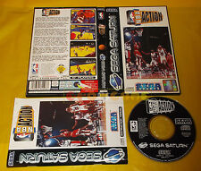 NBA ACTION Sega Saturn Versione Italiana ○○○○○ COMPLETO