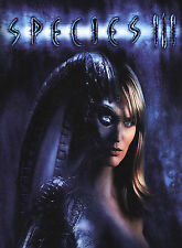 Species III  unrated  widescreen  Sunny Mabrey  new  DVD