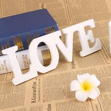 LOVE Wedding Sign wedding decoration MR& MRS letters Wooden White