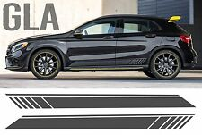 Mercedes GLA Black Edition Style Side Stripe Door Graphics - AMG