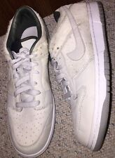 309730-001 Nike Dunk Low Jetstream Grey/White Sneakers Shoes Pony Hair Womens 12