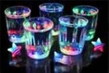 24 pcs Multicolor Flashing LED Light Fancy Shot Glasses Party Barware Supply