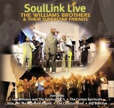 Williams Brothers & Superstar Friends Soullink Live 3: Man in the Mirror CD