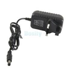 UK Plug AC to DC 9V 1A Wall Power Charger Converter Adapter Cord Cable 5.5mm