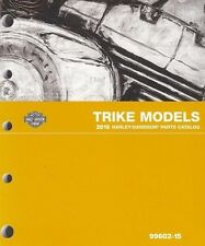 2015 Harley Trike FLHTCUTG Tri Glide Parts Part Manual Catalog Book New 99602-15