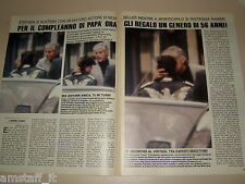 STEPHANIE DE MONACO clipping articolo fotografia foto photo 1988 AS19