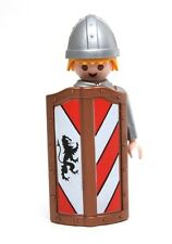 Playmobil Figure Castle Knight w/ Lion Crest Body Shield Dagger Helmet 3667