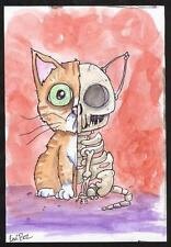 GUS FINK outsider folk goth lowbrow EMI BOZ surreal weird SKELETON CAT HALFSIE