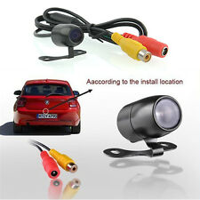 automatic backlight 170° Mini Color CCD Reverse Backup Car Rear View Camera 12V