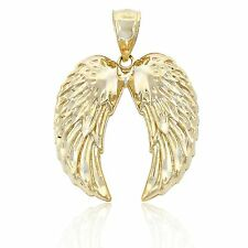 Gold Angel Wings, 10k Solid Gold, Charm America Jewelry
