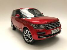 WELLY GT AUTOS 2013 LAND ROVER RANGE ROVER SUV RED 1/18 DIECAST CAR 11006MB-RD