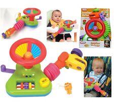 Junior Conductor Auto Volante actividad Juguete Para Cochecito Cochecito Bebé Asiento de coche