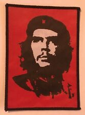 Che Guevara Printed Sew On Badge / Patch - Brand New, Free PP - Cuba, Revolution