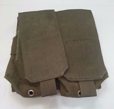 British Army Issue Blackhawk Green Molle Double Ammo / 5.56 NATO Magazine Pouch