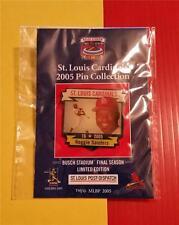 ST LOUIS POST DISPATCH 2005 PRO COLLECTION * REGGIE SANDERS * ST LOUIS CARDINALS