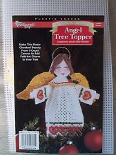 Needlecraft Shop Christmas Trimmings  *Angel Tree Topper*  Plastic Canvas Kit