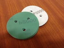 "P2000 velcro abrasive disc  80mm 3 hole  Pack (15)  75mm  3"" Sanding Film Pads"
