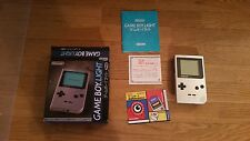 Nintendo Game Boy Light System Silver Japan