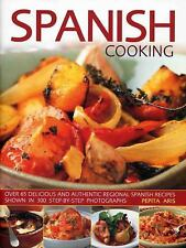 Spanish Cooking: Over 65 Delicious and Authentic Regional Spanish Recipes Shown