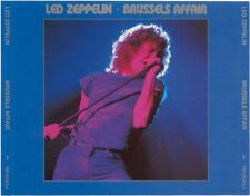 Led Zeppelin   Brussles Belgium  6.20.80 2 CD set