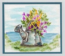 Old Water can (Uget photo #2) RETIRED L@@k@example ART IMPRESSIONS RUBBER STAMPS