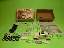REVELL KIT (partly built) H1263 VW BEETLE - 53 HERBIE THE LOVE BUG - RARE 1:25
