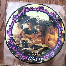 "Fabulous Poodles – Workshy  7"" Picture Disc Single Pye Records – 7NPX 46188"
