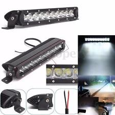 12Inch 50W 10 LED Spot Work Light Bar 4WD Offroad Lamp Truck SUV IP687