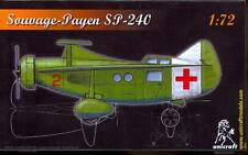 Unicraft Models 1/72 SOUVAGE PAYEN SP-240 French Aircraft Project