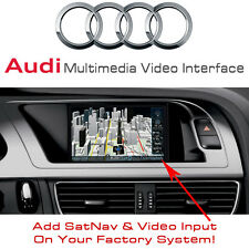 AUDI A5 Q5 A4 SatNav GPS Multimedia Video Interface + Touch Control - SKU2539-2