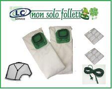 Vorwerk Folletto vk 140/150 12 sacchetti + 12 profumi + 1 filtro + cavo TOP
