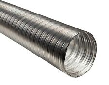 "Flexible Chimney Flue Liner 100mm / 4"" - 0.5m / 50cm Stainless Steel Flexi Pipe"
