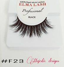 3D Real Mink Eyelashes Makeup Thick Black Eye Lashes #F23