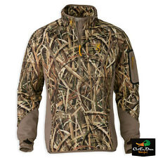 BROWNING WICKED WING SMOOTHBORE FLEECE PULLOVER SHADOWGRASS BLADES CAMO SMALL